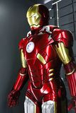 Iron man Type 7 model. Las Vegas,USA - OCT 09, 2017: Iron man Type 7 model at the Avengers experience in Treasure Island Hotel and Casino on Las Vegas Strip Royalty Free Stock Photo