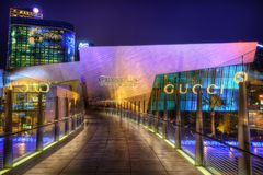 Las Vegas, USA - 12th of April 2013: Shopping Mall royalty free stock photography
