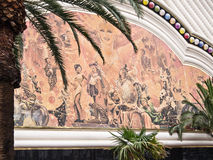 Las Vegas väggmålning Fotografering för Bildbyråer