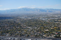 Las Vegas Valley Stock Photo