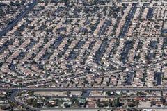 Las Vegas Valley Housing Royalty Free Stock Photo