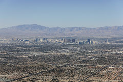 Las Vegas Valley Sprawl Stock Images