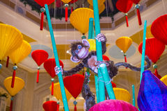 Las Vegas, Venetiaans Chinees Nieuwjaar Stock Foto