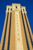 Las Vegas, Venetiaans hotel Royalty-vrije Stock Foto's