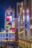 Las Vegas, Venetiaans hotel Royalty-vrije Stock Foto