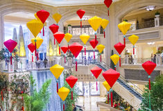 Las Vegas , Venetian Chinese New Year Stock Images