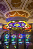Las Vegas , Venetian hotel. LAS VEGAS - APRIL 05 : The interior of the Venetian hotel & Casino in Las Vegas on April 05, 2014. With more than 4000 suites it's royalty free stock images