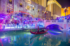 Las Vegas , Venetian hotel Ice rink Royalty Free Stock Photography