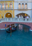 Las Vegas  Venetian hotel Royalty Free Stock Images