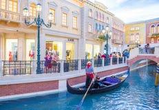 Las Vegas Venetian hotell Royaltyfri Bild