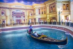 Las Vegas Venetian hotell Royaltyfria Bilder