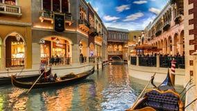 Las Vegas Venetian kasino royaltyfria bilder