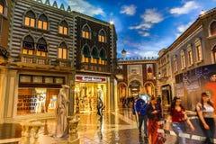 Las Vegas Venetian kasino royaltyfri bild