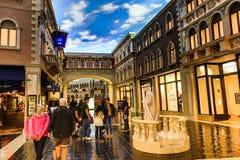 Las Vegas Venetian kasino arkivfoton