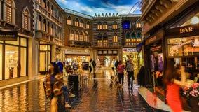 Las Vegas Venetian kasino royaltyfria foton