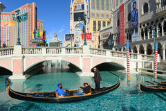 Las Vegas Venetian, Las Vegas, nanovolt Foto de Stock