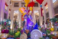 Las Vegas, venetianisches Chinesisches Neujahrsfest Lizenzfreies Stockfoto