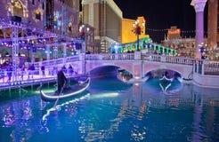 Las Vegas veneziano Fotografia Stock