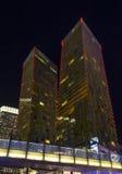 Las Vegas verandert Torens van richting Stock Fotografie