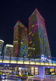 Las Vegas verandert Torens van richting Stock Afbeeldingen