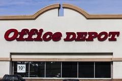 Las Vegas - vers en décembre 2016 : Emplacement de devis d'Office Depot Office Depot a combiné des ventes annuelles de $11 millia Images stock