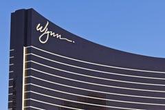 Las Vegas - vers en juillet 2016 : Wynn Las Vegas sur la bande C'est la propriété de navire amiral de Wynn Resorts Limited I Photos libres de droits