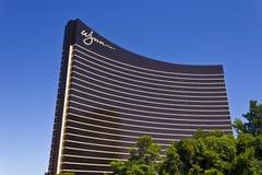 Las Vegas - vers en juillet 2016 : Wynn Las Vegas sur la bande C'est la propriété de navire amiral de Wynn Resorts Limited III Photos stock