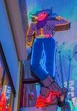 Las Vegas Vic Royalty-vrije Stock Foto's