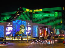 Las Vegas. A view of the MGM Grand hotel in Las Vegas stock images