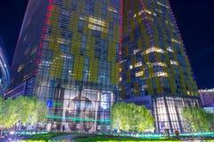 Las Vegas vira torres Foto de archivo libre de regalías