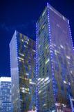Las Vegas virent des tours Photographie stock libre de droits