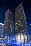 Las Vegas virent des tours Photos libres de droits