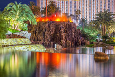 Las Vegas  Volcano Stock Photo