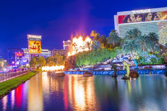 Las Vegas , Volcano Stock Image