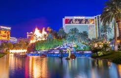 Las Vegas , Volcano Stock Photography