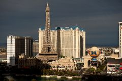 Las Vegas vor dem Sturm Lizenzfreies Stockbild