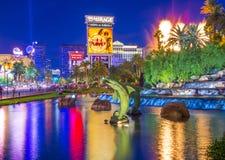 Las Vegas, vulcão Imagens de Stock