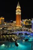 Las Vegas Wenecja Obrazy Royalty Free