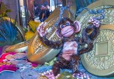 Las Vegas, Wenecki Chiński nowy rok Zdjęcia Royalty Free