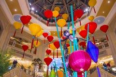 Las Vegas, Wenecki Chiński nowy rok Fotografia Royalty Free