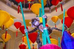 Las Vegas, Wenecki Chiński nowy rok Zdjęcie Stock