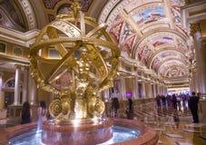 Las Vegas, Wenecki hotel Zdjęcie Stock