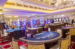 Las Vegas, Wenecki hotel Obrazy Stock