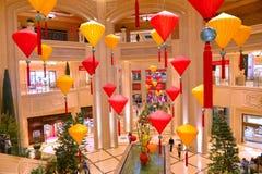 Las Vegas, Wenecki hotel Zdjęcia Royalty Free