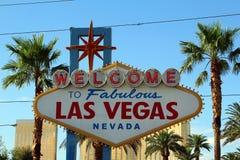 Las Vegas Willkommen Lizenzfreie Stockfotografie