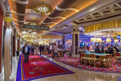Las Vegas Wynn hotel Zdjęcia Royalty Free