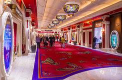 Las Vegas , Wynn hotel Royalty Free Stock Images