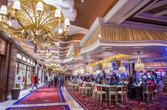 Las Vegas Wynn hotel Royalty Free Stock Photography