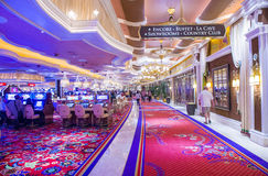 Las Vegas Wynn hotel Stock Photography