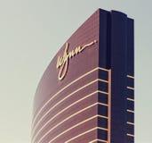Las Vegas Wynn Hotel Top. Image of the Wynn Hotel Top on the Vegas strip in Las Vegas, Nevada Royalty Free Stock Photos